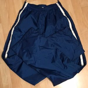 Nike full zip windbreaker pants